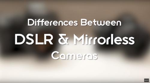 Les avantages d'un appareil sans miroir