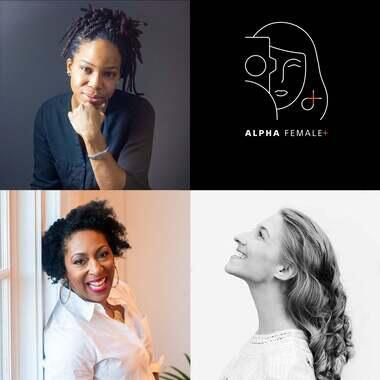 portrait of Tomayia Colvin, Brooke Shaden, and Lisa Janae