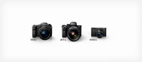 Sony announces the α7R II, RX100 IV, and RX10 II