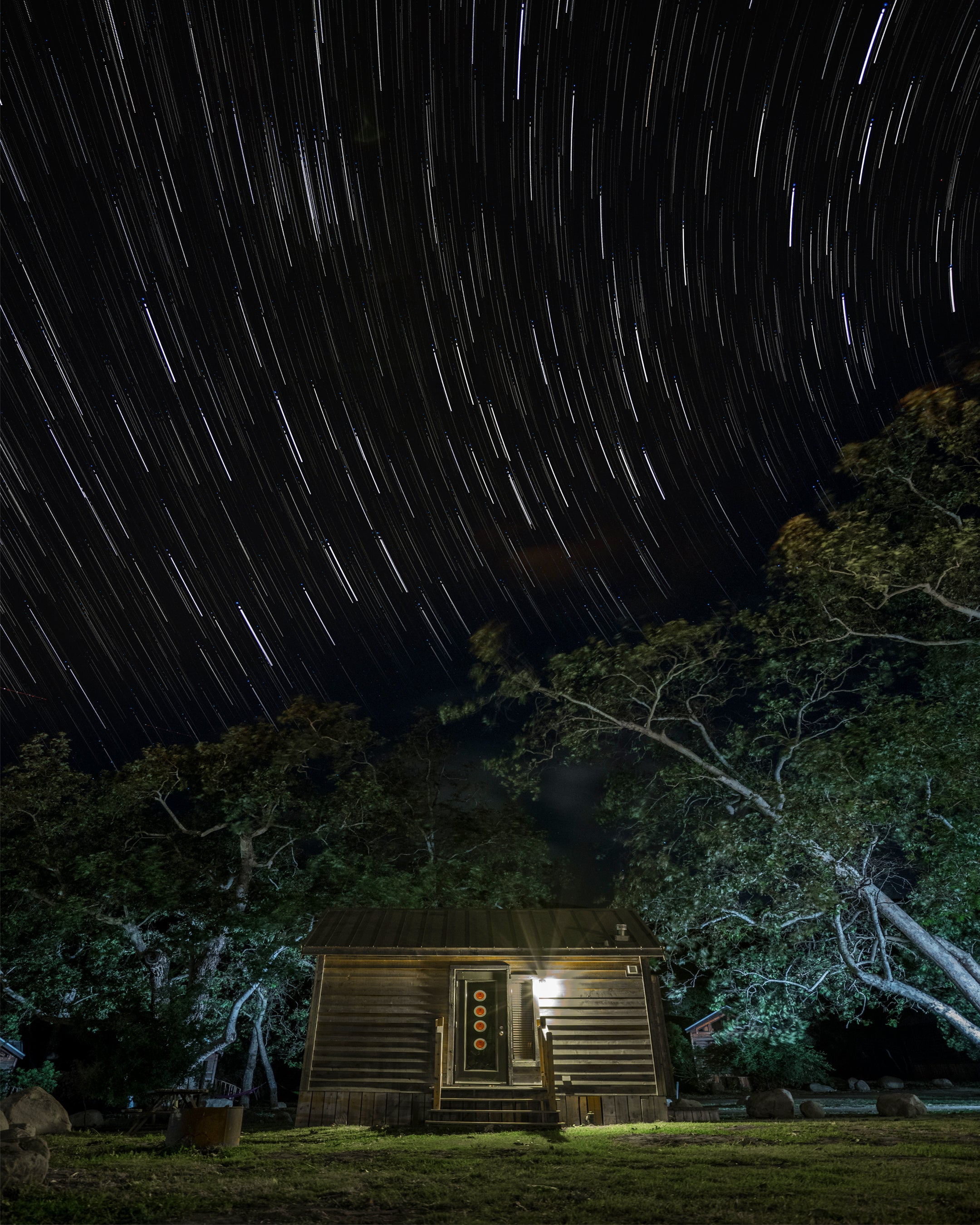 Shooting Star Trails By Image Stacking