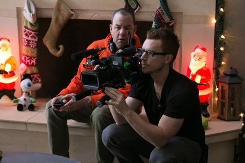 L'appareil photo α7S Sony sur le plateau de tournage du dernier épisode du film « Activité paranormale »