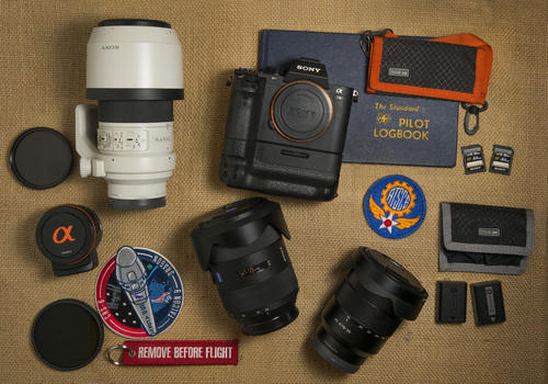 What's In My Bag: Artisan Dennis Biela Shows What He Carries For Aviation Photography